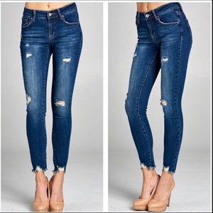 Denim - REORDER!!🔥🔥🔥Distressed Skinny Jeans! 👖
